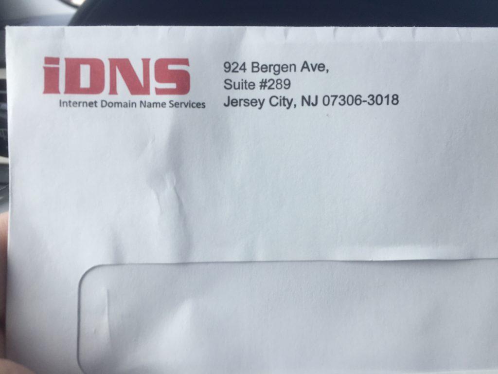 fake internet bill scam